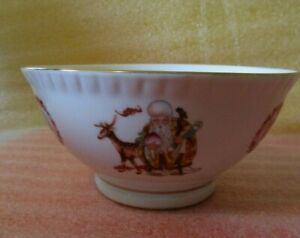 ❤Vintage SIGNED CHINESE Rice Serving Bowl NOODLE Soup Bowl 🎎 Good Luck Diety🎋