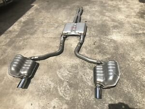 CHRYSLER 300C SRT (cat back) EXHAUST SYSTEM. As New, Only 250kms Came off a 2009