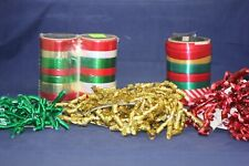 Assorted Christmas Ribbons