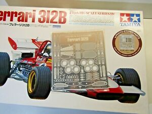 Tamiya 1:12 Big Scale Ferrari 312B Photo Etched Parts only as Pictured - New