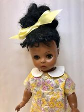"Vintage 1950's Horsman Black African American 14"" Ruthie Doll"