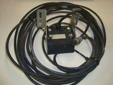 3 Pin Round Sonar Transom Mount Depth Sonic Transducer, Airmar Lowrance, Garmin