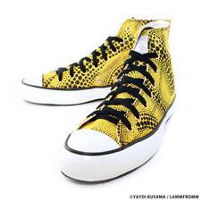 Yayoi Kusama Sneakers [Yellow Trees HI (Yellow x Black)]