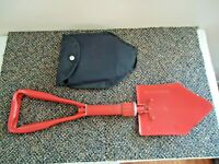 """Vintage Boy Scouts Folding Shovel In Bag """" GREAT RARE COLOR COLLECTIBLE ITEM """""""
