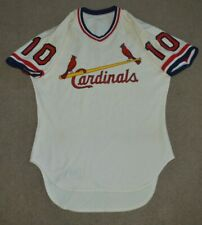 Vtg St Louis Cardinals Affiliate 1981 Game Worn Used Jersey Rawlings Sz 44