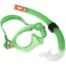 Aqualung Reef Schnorchel-Set Kinder Schnorchel + Taucherbrille Set Maske grün