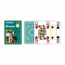 Modiano Poker Jeu de Cartes 100% Plastique Vert Foncé