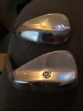 Scratch Golf 8620 Tour Issue 47/58 Hand Grind 2 clubs BNIP New Head Only