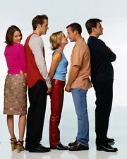 Two Guys and a Girl [Cast] (32715) 8x10 Photo