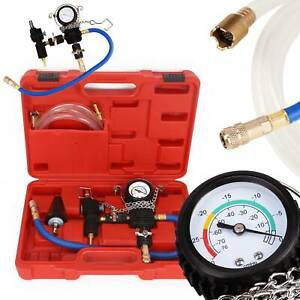 Practical Radiator Cooling System Vacuum Purge Coolant Refill Tool Kit Red Shell