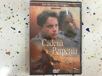 Catena Perpetua Tim Robbins Morgan Freeman DVD Nuovo Sigillato Rimasterizzato