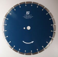 350MM FLUMED DIAMOND LASER SAW BLADE PRECISION REINFORCED PRO QUALITY