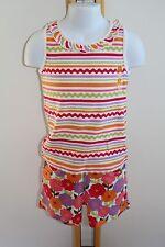 Gymboree Pretty Posies Girls Size 6 Stripe Top Shirt NWT Knit Shorts NEW
