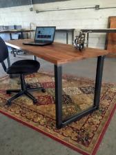 Metal Table Legs - U Style - Adjustable Leveling Feet