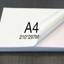 10Pcs A4 Printing Paper Self Adhesive Sticker Paper Laser Inkjet Printing Label