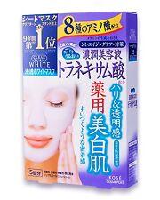 Face Mask Kose Clear Turn White Mask Tranexamic acid (22 mL × 5 sheets)
