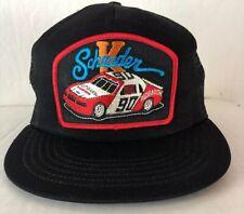 Vintage  NASCAR Racing Mesh SnapBack Trucker Hat USA Ken Schrader #90 Red Baron