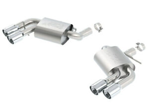 Borla 11920 2016 Chevy Camaro 6.2L AT/MT S Type Rear Section Exhaust w/o Dual Mo