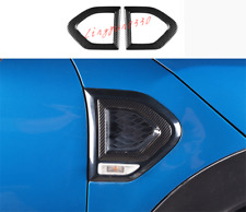 ABS Carbon Fiber Side Wing Air Vent Fender Cover For MINI Cooper Countryman F60