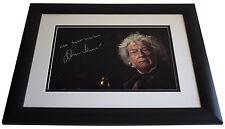 John Hurt SIGNED FRAMED Photo Autograph 16x12 LARGE display Harry Potter & COA