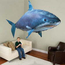 Remote Control RC Toy Air Flying Shark Fish Swimmer Children Kids Birthday Gifts