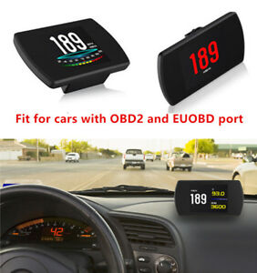 OBD HUD Head-up Display Car Speedometer OBD2 Smart Digital Multi-function Tool