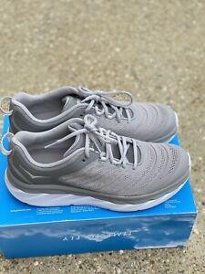 Hoka One One Akasa Men's Size 11.5 Frost Gray/Silver Sconce Running Shoe