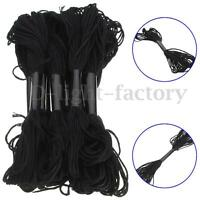 12Pcs Cross Stitch Thread Embroidery Cotton Crochet Floss Skein Handmade Black