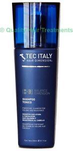 Tec Italy Hair Therapy Shampoo Tonico (for fine, thin, weak & limp hair) 10.1 oz