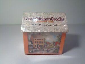 Linda Nelson Stocks STONEWALL VISIT New 100 Piece Miniature Jigsaw Puzzle