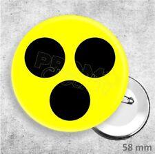 Button Blind Blindheit Sehrbehindert Blindenplakette - großer Badge (ca. 58 mm)