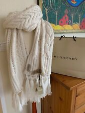 Burberry Schal Wolle/Kaschmir Scarf Wool/Cashmere ca. 180 cm x 37 cm NP 825 €
