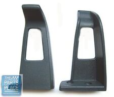 1978-88 GM Seat Belt Guides - Blue - Pair