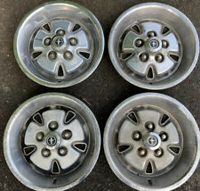 New Listing1971 1973 Ford Mustang Mach 1 Hub Caps Full Set Of 4 No Reserve Price
