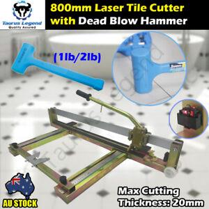 800mm laser level Professional Manual Tile Cutter Dead Blow Tiling Hammer Bundle