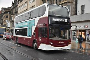 209 LB61 BBU Lothian Buses 6x4 Quality Bus Photograph