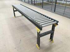 435mm Wide, Knapp Incline Conveyor Convayor Gravity Roller Rolling Table Belt