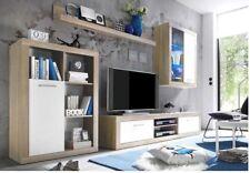 Parete attrezzata da Soggiorno con mobile TV illuminazione LED compresa