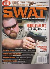 S.W.A.T. MAGAZINE JULY 2015, SURVIVAL WEAPONS AND TACTICS.