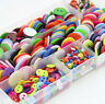 10-100Pcs Plastic Mixed Colorful Sewing Scrapbooking Buttons 2Holes Craft DIY