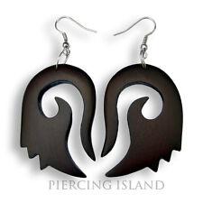 Ohrringe Hänger Goa Design Holz Wood Earrings Schmuck ER144