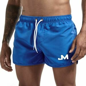 Men's Swim Trunks Summer Swimwear Swimming Beach Shorts Boxer Short Swim Pants