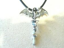 NEW Necklace Pendant Vampire Silver Tone Jewelry US Seller Stock Menwomenstyles