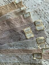 Frankreich Antik Muster Wäsche Spitze - Antique Sampler Lingerie Lace