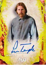 Walking Dead Survival Box Autograph Card Lew Temple As Axel 50/99