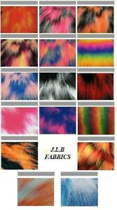 Long Haired Faux Fur Fabric - Multiple Lengths & Colours - AC 356 / YF54