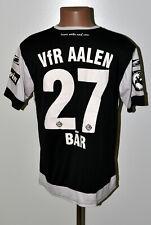 VFR AALEN GERMANY 2018/2019 MATCH WORN ISSUE FOOTBALL SHIRT SALLER BAR #27