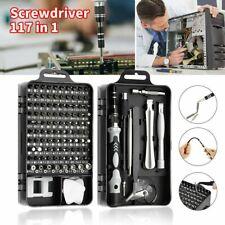 117 in 1 Magnetic Precision Screwdriver Set Computer Pc Phone Repair Tool Kit
