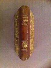MONSELET  - La lorgnette littéraire. Dictionnaire des grands et petits auteurs