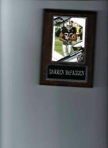 DARREN McFADDEN PLAQUE OAKLAND RAIDERS LA FOOTBALL NFL   C